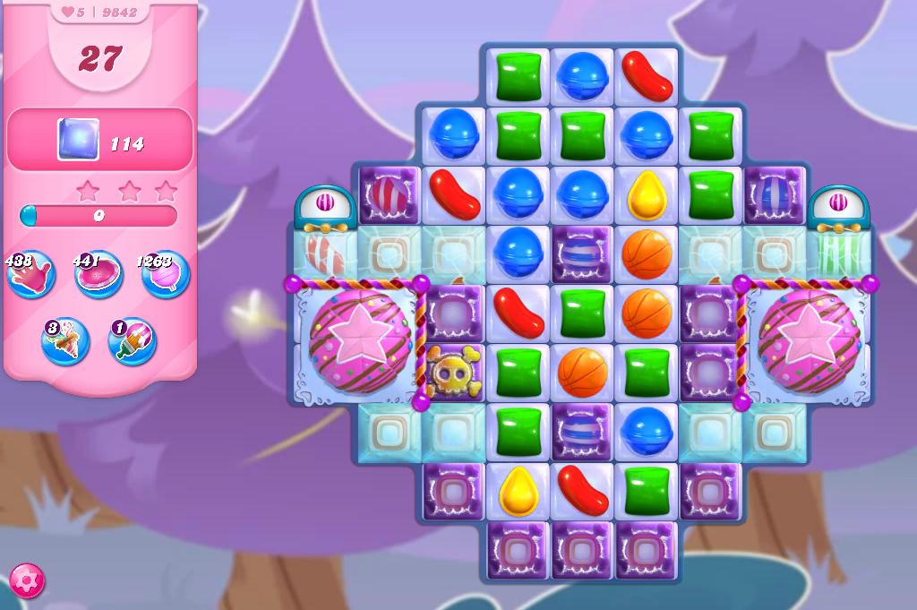 Candy Crush Saga level 9842