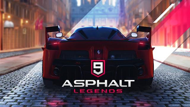 #1 Asphalt 9: Legends