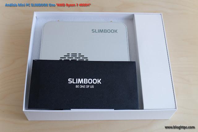 UNBOXING Y ACCESORIOS MINIPC SLIMBOOK ONE AMD RYZEN 7 4800H