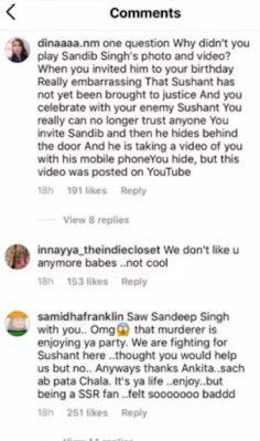 Anger of Sushant's fans: Ankita Lokhande invited Sandeep Singh to her birthday party, Sushant Singh Rajput's fans said- damn you