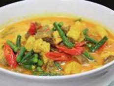 Resep praktis (mudah) sayur tahu tempe santan pedas spesial (istimewa) enak, sedap, gurih, nikmat lezat