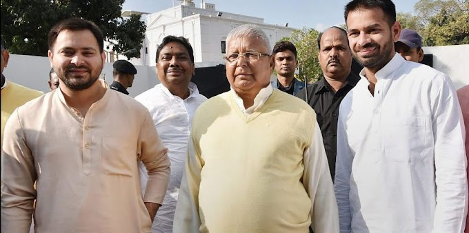 Tej Pratap Yadav claims that he is the real Lalu of Bihar.
