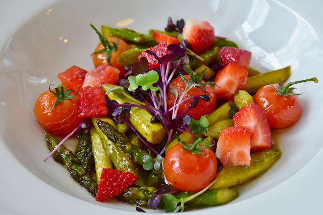 green salad vegetarian