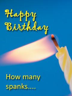 Happy Birthday from Professional Disciplinarian