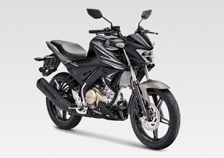 All New Vixion Metalic Black