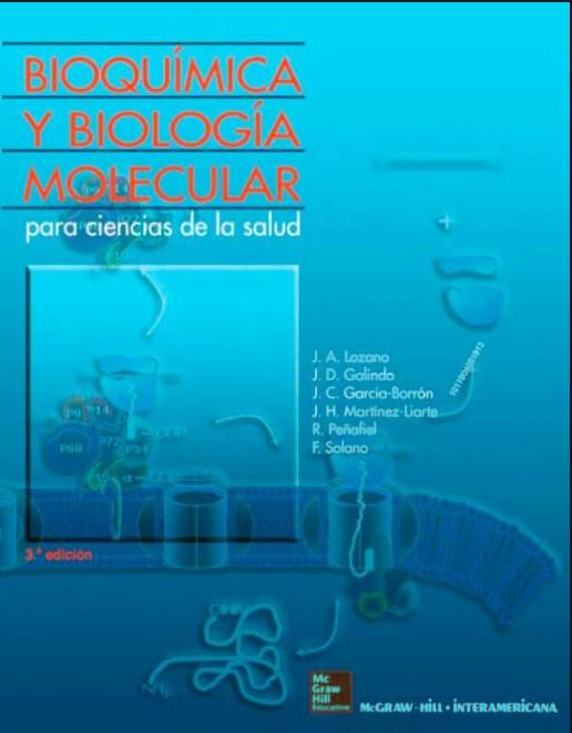 Bioquímica y Biología Molecular para Ciencias de la Salud 3 Edición en pdf