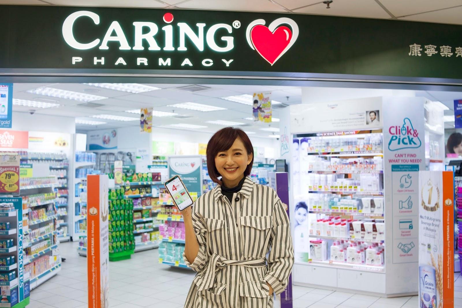 Farmasi CARiNG Digitisasikan Ganjaran