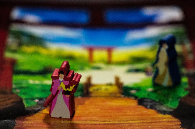 The One Hundred Torii board game review; photo by Benjamin Kocher