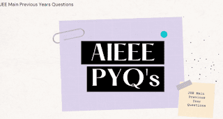 Previous Year Questions JEE Main& AIEEE [PDF]