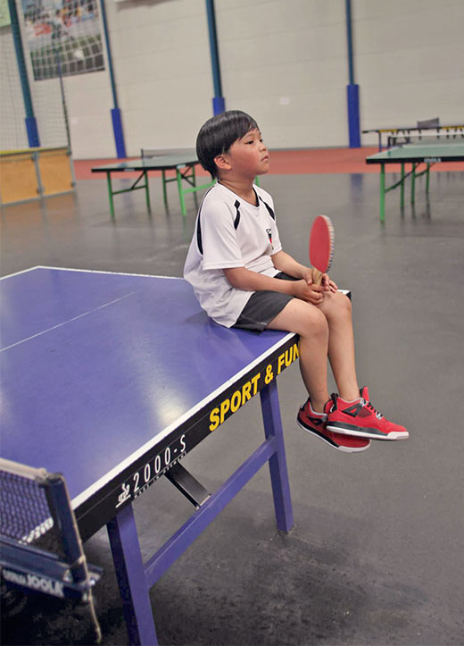 Screen Time For Kids And Teens, Table tennis kid