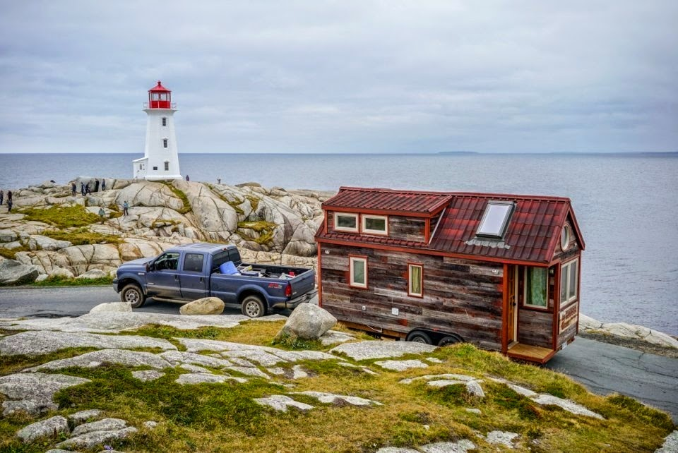 They have also traveled at least 180 nautical miles by ferry, from Nova Scotia all the way down to Maine. - This Couple Quit Their Jobs To Live Off-Grid… How They Did It Will Inspire You.