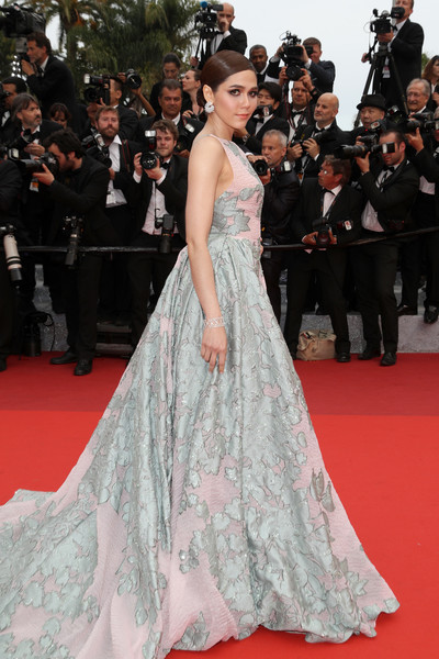 HQ Photos of Araya Hargate BFG Red Carpet Arrivals 69th Annual Cannes Film Festival