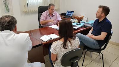 Superintendente do CONSAÚDE reúne-se com assessor da Casa Civil de SP