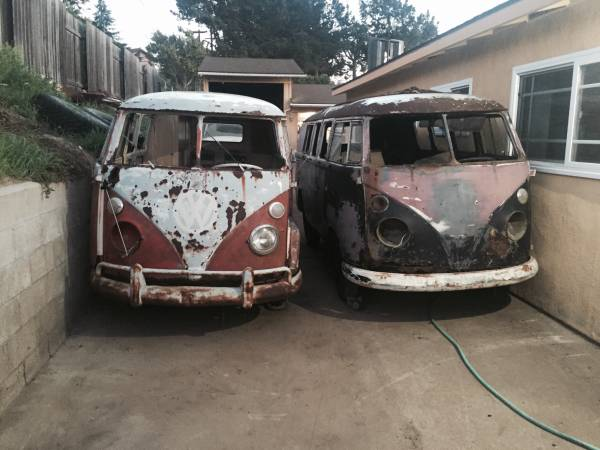 vw bus split window project for sale vw bus. Black Bedroom Furniture Sets. Home Design Ideas