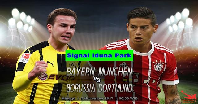Borussia Dortmund vs Bayern Munchen 5 November 2017