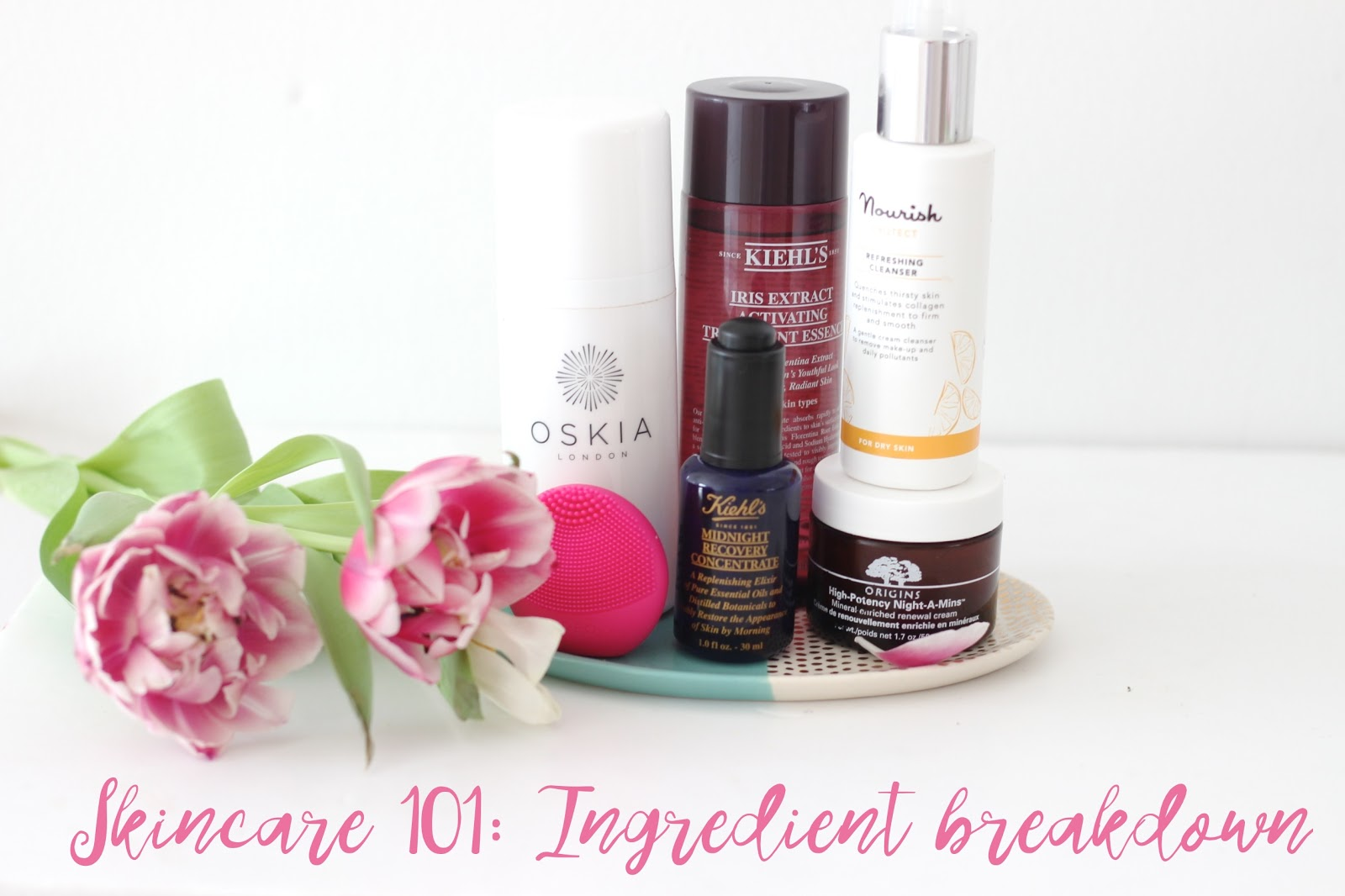 Skincare 101: Key Ingredients and What They Do.