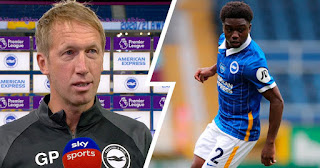 Brighton coach speaks on Lamptey's 'decision to leave Chelsea and predicts big future for former blues kid