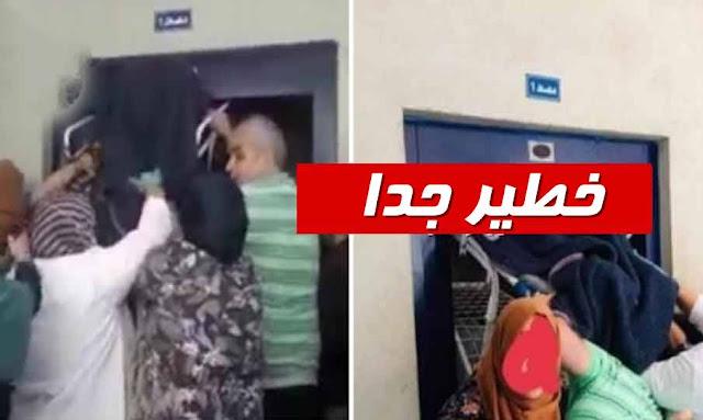 بنزرت : مصعد بالمستشفى الجهوي الحبيب بوقطفة يتسبب في كارثة