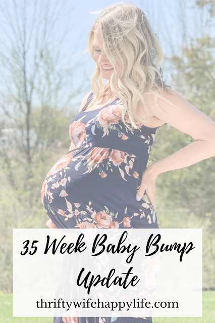35 Week Baby Bump Update