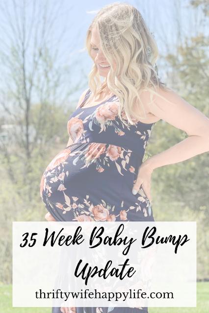 35 Week Baby Bump Update