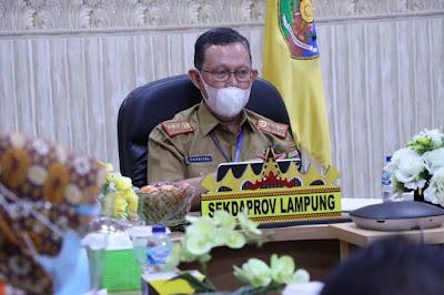 Sekdaprov Fahrizal Pimpin Rapat Implementasi Program TPKAD Revitalisasi Aset Petani dan Data Lahan