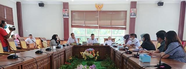 Ides Madri Pimpin RDP dengan PT Pegatron Technologi Indonesia