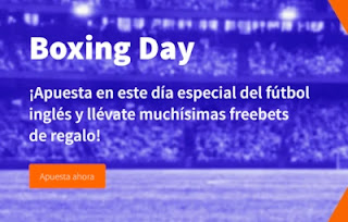 Betsson Boxing day Freebets navideñas Boxing Day