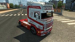 Scania RJL Heavy Transports skin