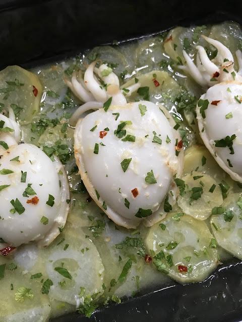 CÓMO COCINAR SEPIA AL HORNO. Sepia con patatas, Receta Ligera y Fácil