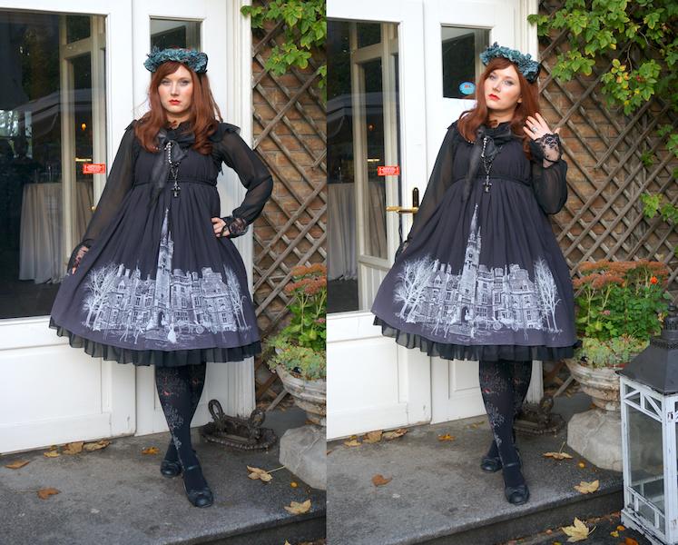 Lady Sloth jsk, Lady Sloth Miranda, lolita fashion