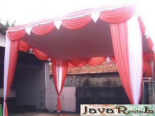 Sewa Tenda Plafon VIP - Rental Tenda Plafon VIP Pesta