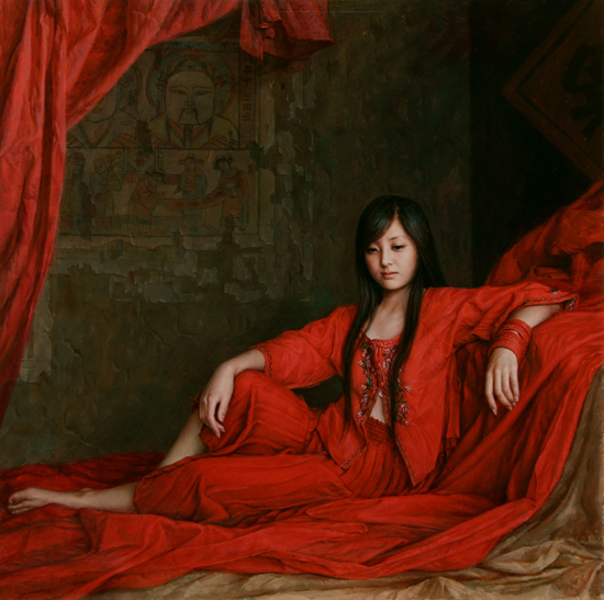 50+ Mesmerizing Women Paintings by 安静(An Jing)