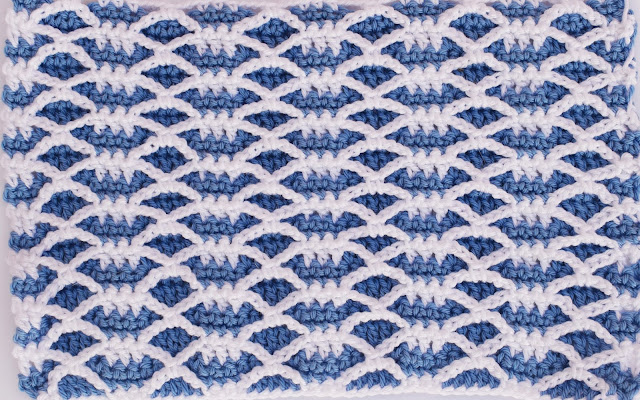 6 Crochet Imagen Puntada combinada de otoño a crochet y ganchillo por Majovel Crochet