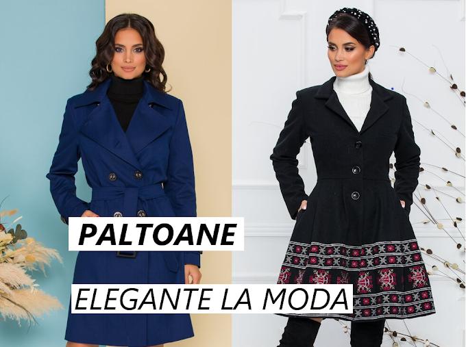 Paltoane dama moderne ieftine frumoase de calitate pt iarna la moda in 2020