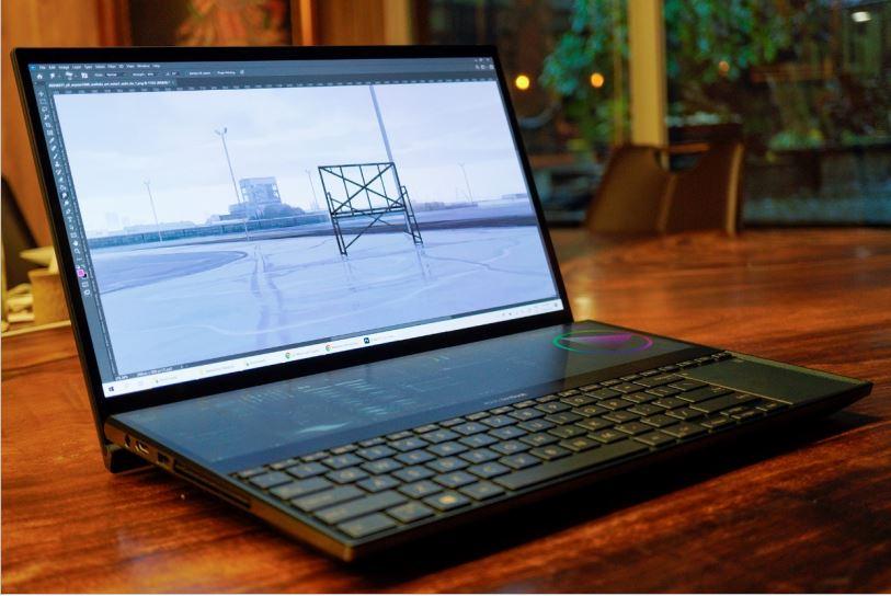 Performa Asus ZenBook Pro Duo UX581