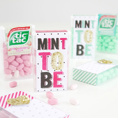Tic Tac® DIY Wedding Favor Idea with Printables