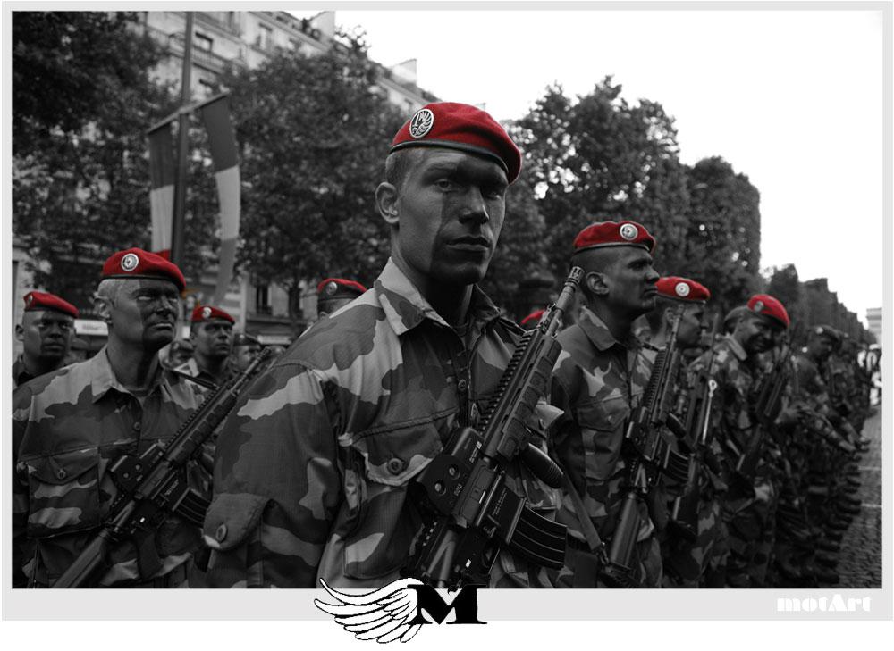 MotArt: Bastille Day Military Parade