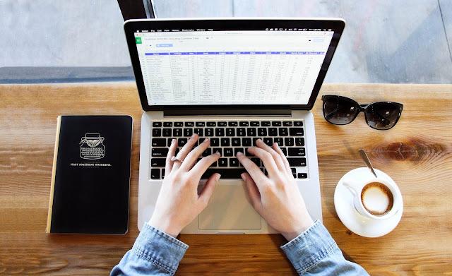 Typing, Work