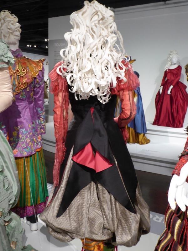 Alice Looking Glass Nautical costume back