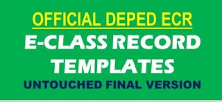 Final and Official E-Class Record Templates from DepEd (Untouched)