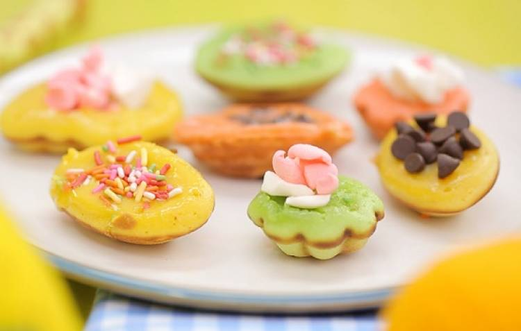 Resep Kue Cubit Rainbow istimewa Anti Gagal