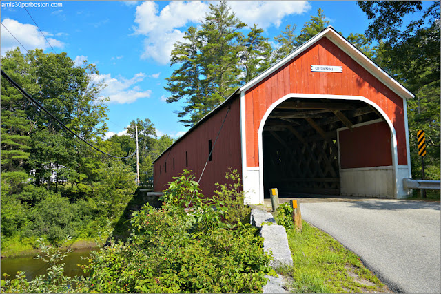 Puente Cubierto Cresson Covered Bridge / Sawyers Crossing en New Hampshire
