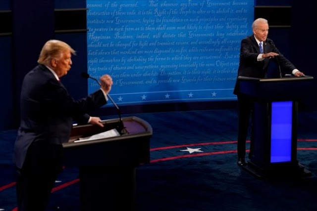 Trump y Biden realizaron su último debate electoral sin menciones directas a la comunidad latina