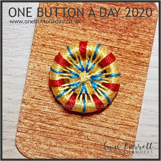 Day 302 : Sunny - One Button a Day 2020 by Gina Barrett