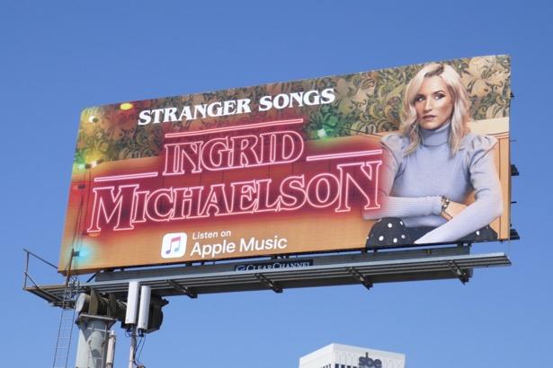Ingrid Michaelson Stranger Songs Apple Music billboard