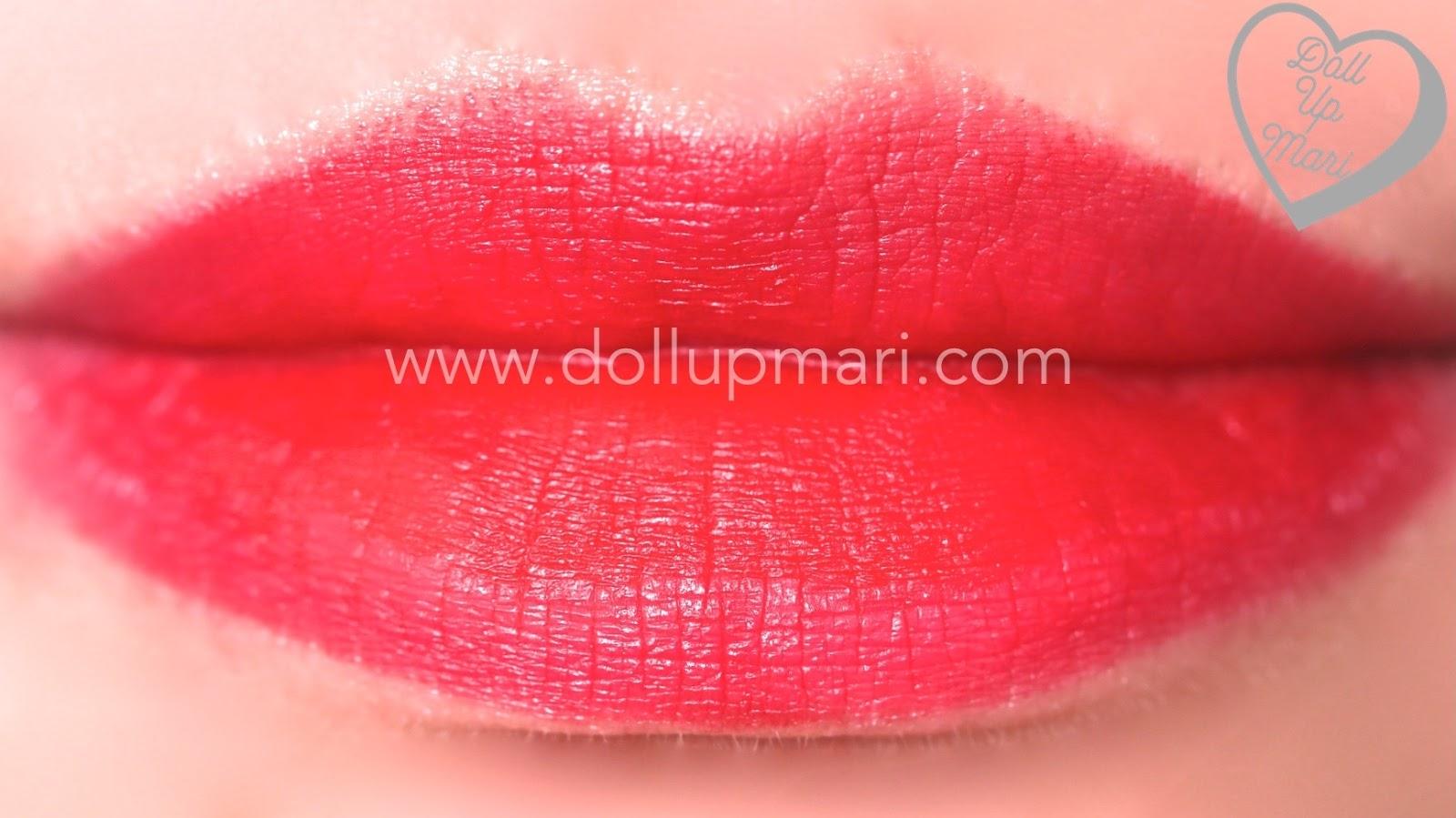 EB Advance Absolute Matte Lipstick (Boss) Review, Swatch