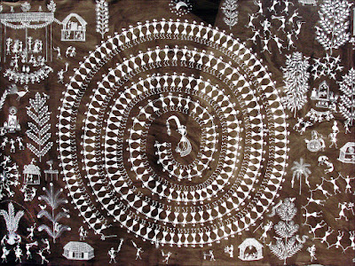 Jivya Soma Mashe : art Warli Inde maharashtra