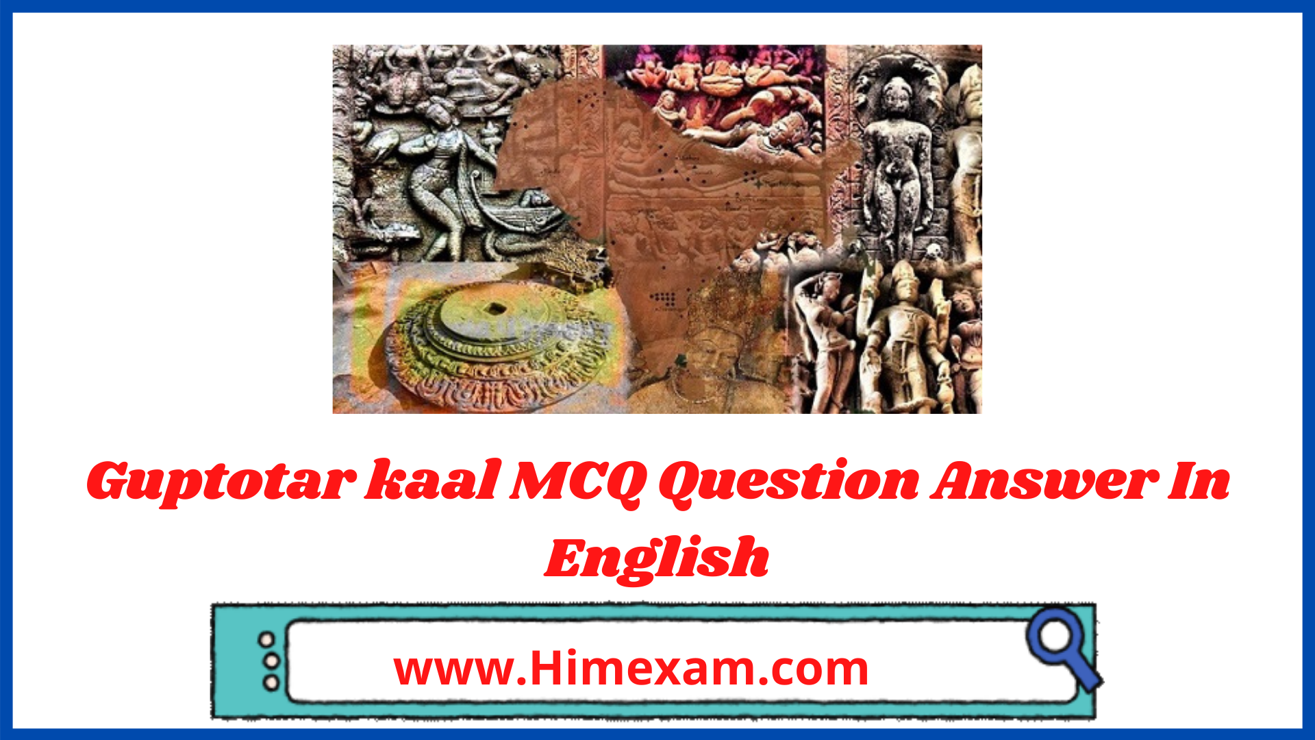 Guptotar kaal MCQ Question Answer In English