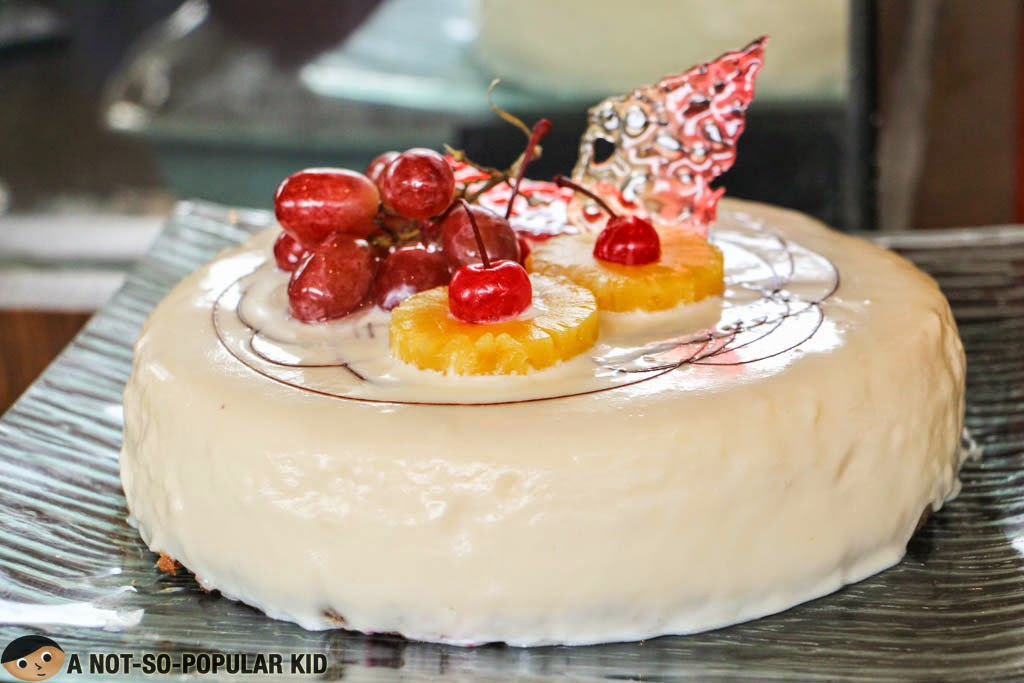 Queso De Bola Cheesecake of F1 Hotel Manila