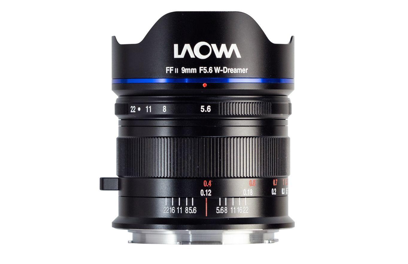 МДФ объектива Laowa 9mm f/5.6 FF RL